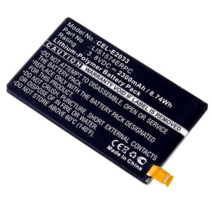 Image of Cell Phone Battery CEL-E2033 Replaces Sony Ericsson - 1288-1798