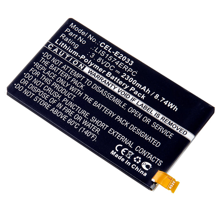 Cell Phone Battery CEL-E2033 Replaces Sony Ericsson - 1288-1798