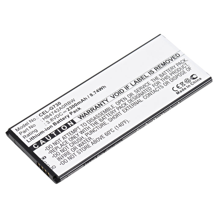 Cell Phone Battery CEL-G730 Replaces Huawei - HB4742AORBC