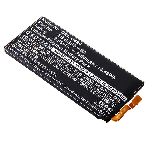 Cell Phone Battery CEL-G890 Replaces Samsung - EB-BG890ABA