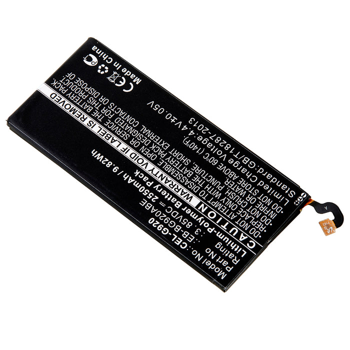 Cell Phone Battery CEL-G920 Replaces Samsung - EB-BG920ABE