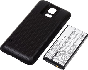 Image of Cell Phone Battery CEL-I9600HC-BLK Replaces Samsung - EB-B900BC