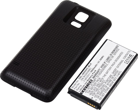Cell Phone Battery CEL-I9600HC-BLK Replaces Samsung - EB-B900BC