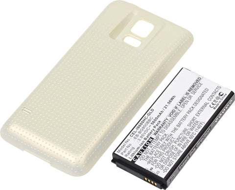 Cell Phone Battery CEL-I9600HC-GLD Replaces Samsung - EB-B900BC