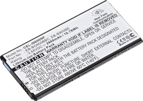 Cell Phone Battery CEL-I9600NF Replaces Samsung - EB-B900BC