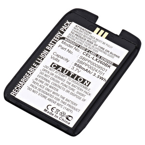 Image of Cell Phone Battery CEL-LX260BK Replaces LG - SBPP0024701