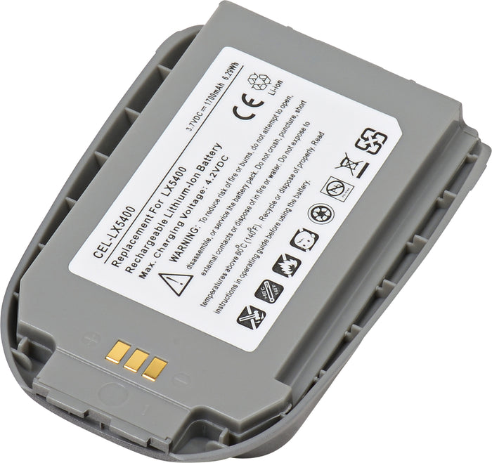 Cell Phone Battery CEL-LX5400 Replaces LG - SBPL0071402