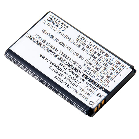 Cell Phone Battery CEL-M570 Replaces Huawei - BTR7519