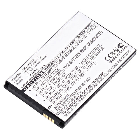 Cell Phone Battery CEL-MB810 Replaces Motorola - SNN5865A