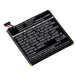 Cell Phone Battery CEL-OT7024 Replaces Alcatel - TLP018B1