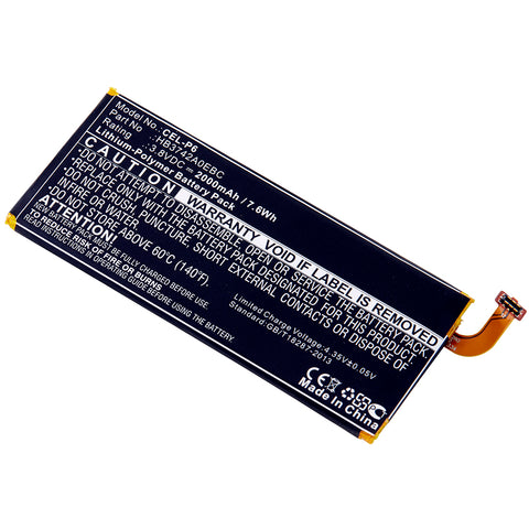 Cell Phone Battery CEL-P6 Replaces Huawei - HB3742A0E8C
