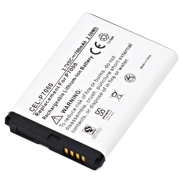 Cell Phone Battery CEL-P7000 Replaces Pantech - 5HTB0073B0A