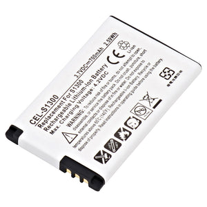 Image of Cell Phone Battery CEL-S1300 Replaces Kyocera - TXBAT10182