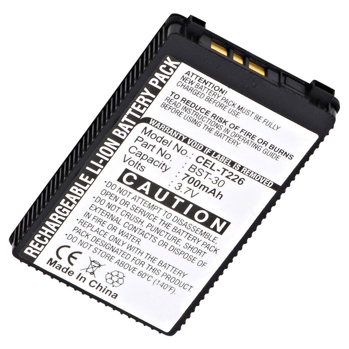 Cell Phone Battery CEL-T226 Replaces Sony Ericsson - BKB-193174