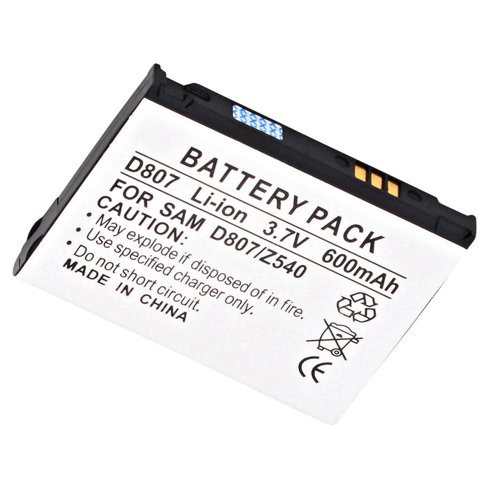 Cell Phone Battery CEL-T809 Replaces Samsung - BST5168BA