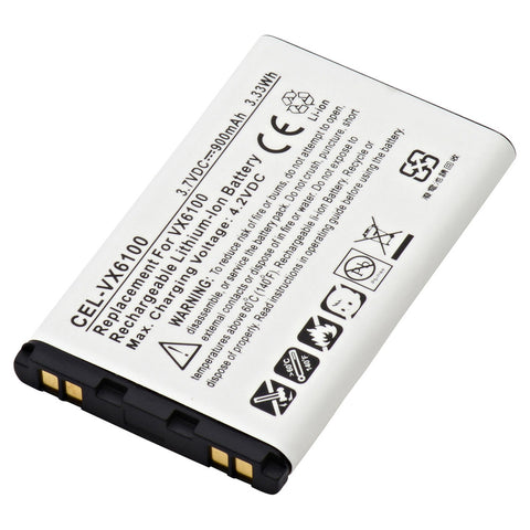 Cell Phone Battery CEL-VX6100 Replaces LG - BSL-42G