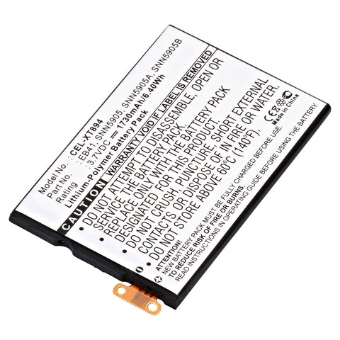 Cell Phone Battery CEL-XT894 Replaces Motorola - SNN5905
