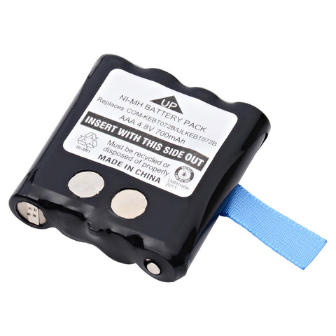 FRS/GMRS Battery COM-KEBT072B Replaces Motorola - KEBT072A