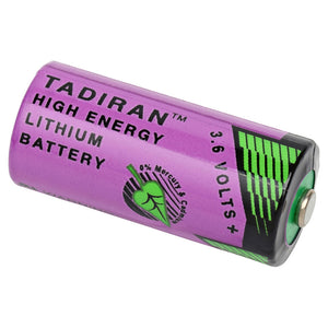 Image of Tadiran 2/3AA COMP-100 Lithium Thionyl Chloride 3.6VOLTS 1450mAh Industrial Battery
