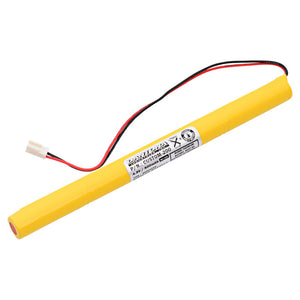 Image of Evenlite B310011 4.8v 800mAh NiCD Battery Pack Replacement for Emergency/Exit Light Ni-CD AA 800 mah 4.8 volt Dantona Custom-200