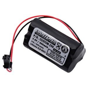 Image of Exit Sign Emergency Light NiCad Battery 3.6v 900mAh Replacement Lithonia ELB B001
