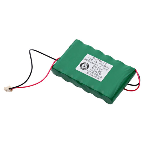 Emergency Lighting Battery CUSTOM-70 Replaces Ademco - Lynx Back Up Walynx-RCHB-SC, Interstate - NIC1247