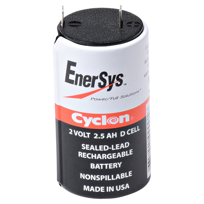 Emergency Lighting Battery CYCLON-D Replaces Chloride - 1000010124, EnerSys - 0810-0004
