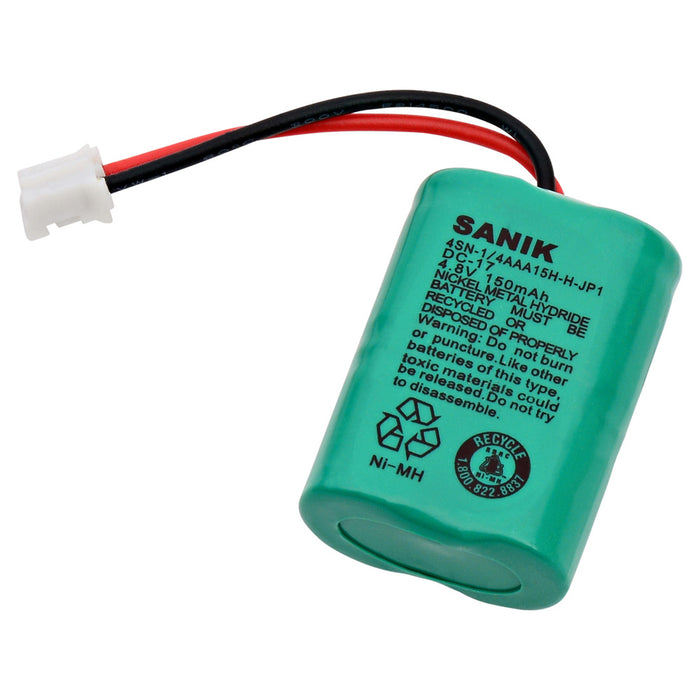 Dog Collar Battery EB-DC17 Replaces DC-17, CS-SDC17SL, 650-058