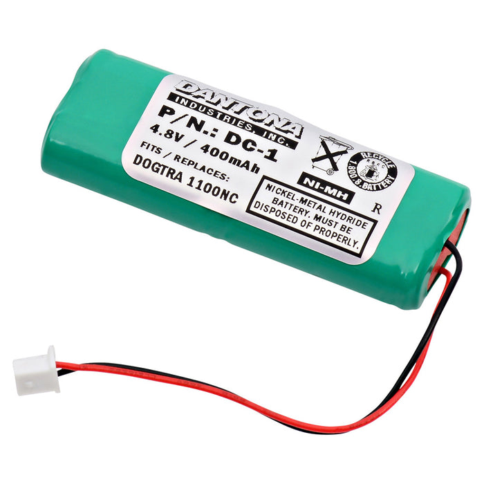 Dog Collar Battery EB-DC1 Replaces DC-1, 28AAAM4SMX, BP-12, BP-RR