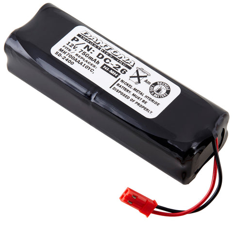 Dog Collar Battery DC-26 Replaces SportDOG - 650-053, Interstate - NC1547