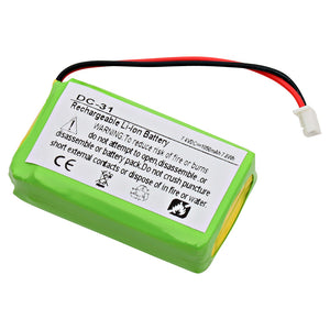 Image of Dog Collar Battery EB-DC31 Replaces DC-31, BP74T, CS-SDP74SL