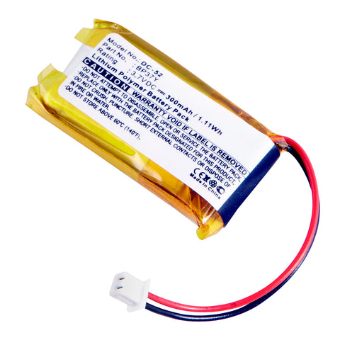 Dog Collar Battery DC-52 Replaces Dogtra - 8P37Y