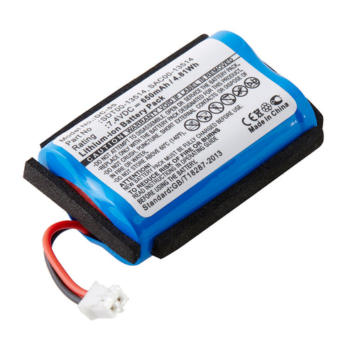 Dog Collar Battery DC-55 Replaces SportDOG - SAC00-13514