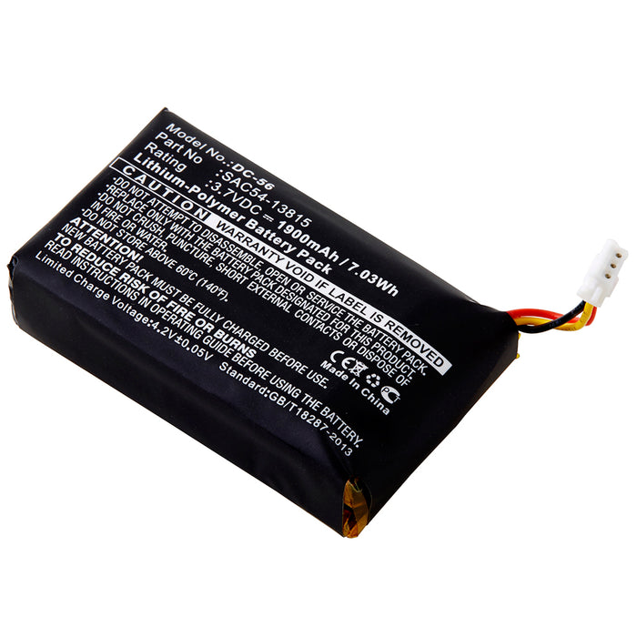 Dog Collar Battery DC-56 Replaces SportDOG - SAC54-13815