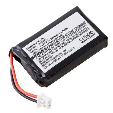 Dog Collar Battery DC-58 Replaces Dogtra - BP74RE