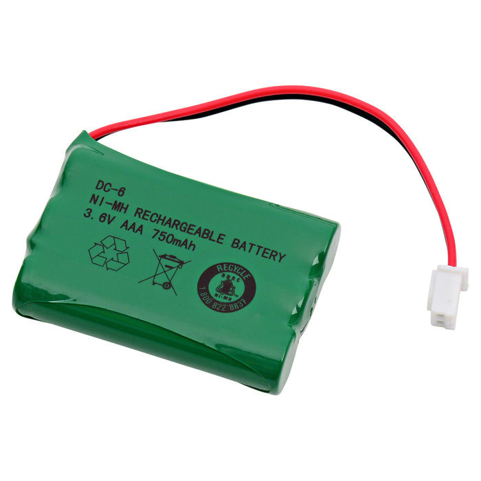 Dog Collar Battery EB-DC6 Replaces DC-6, CM-TR103, CS-SCM103SL