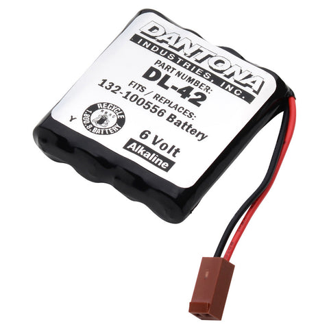 Door Lock Battery DL-42 Replaces Miscellaneous Batteries - 132-100556