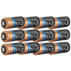 Duracell Ultra DL123A 3V Lithium Battery (AKA: CR123, CR123A, PL123, EL123, 123) 12-Pack