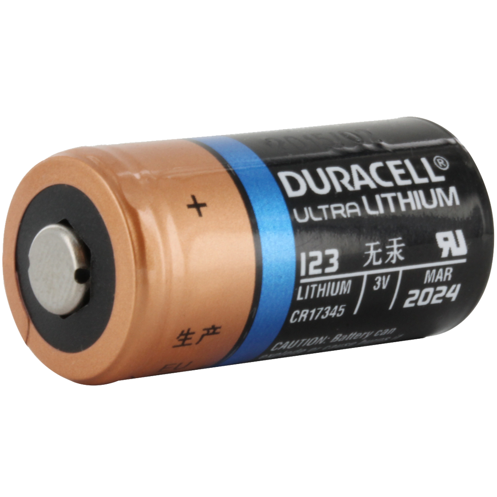 duracell ultra dl123a cr123a lithium battery cr123 pl123 el123 123. Black Bedroom Furniture Sets. Home Design Ideas
