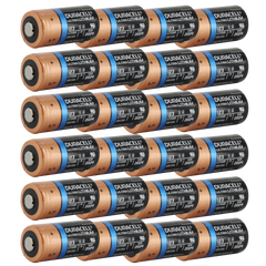 Duracell Ultra DL123A 3V Lithium Battery (AKA: CR123, CR123A, PL123, EL123, 123) 24-Pack