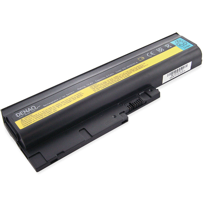 DENAQ 6-Cell 58Whr Li-Ion Laptop Battery - DA DQ-40Y6797-6 replaces IBM ThinkPad notebook batteries