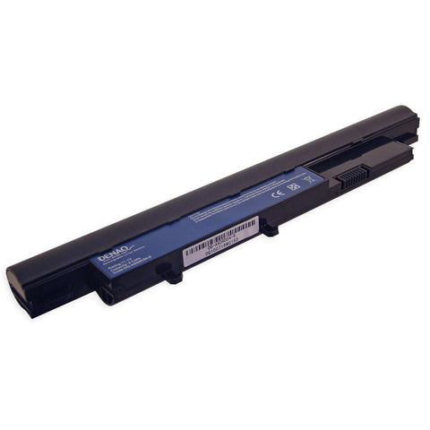 DENAQ 6-Cell 4400mAh Li-Ion Laptop Battery - DA DQ-AS09D34-6 replaces ACER Aspire notebook batteries