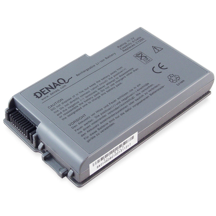 DENAQ 6-Cell 53Whr Li-Ion Laptop Battery - DA DQ-C1295 replaces DELL Inspiron series batteries