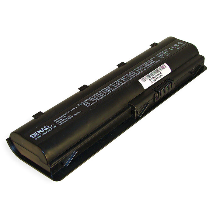 DENAQ 6-Cell 5200mAh Li-Ion Laptop Battery for HP Envy 17, HP G42-100, G62-100, G72-100; HP PAVILION DV7 Series; COMPAQ PRESARIO CQ32, CQ42, CQ62