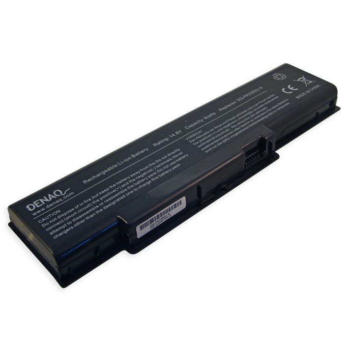 DENAQ 8-Cell 5200mAh Li-Ion Laptop Battery for TOSHIBA Satellite A60, A65 Series and other