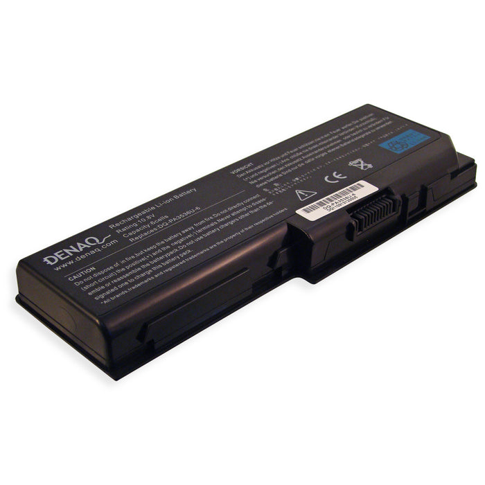DENAQ 6-Cell 5200mAh Li-Ion Laptop Battery for TOSHIBA Equium P200 Series, Satellite L350, L355, P200 Series and other
