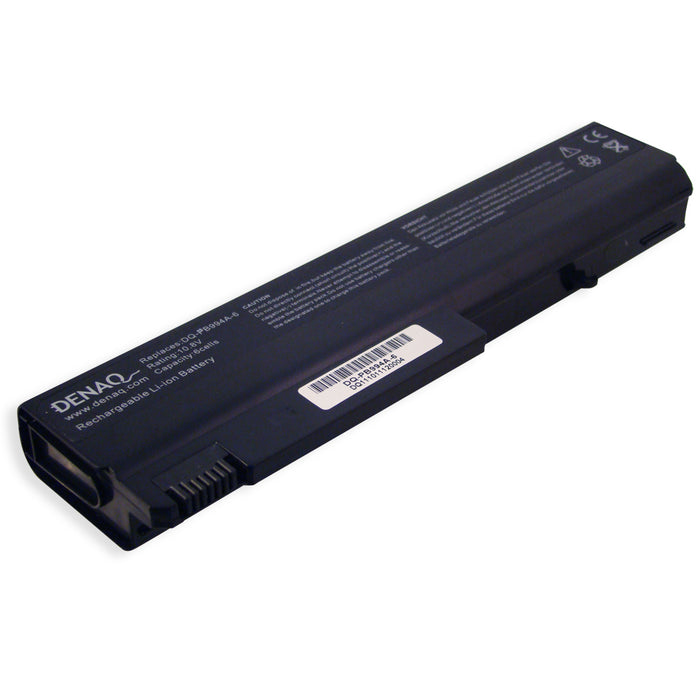 DENAQ 6-Cell 4400mAh Li-Ion Laptop Battery for HP Business Notebook NC6100, NC6200, NC6320, NC6400, NX6100, NX6300 Series and other
