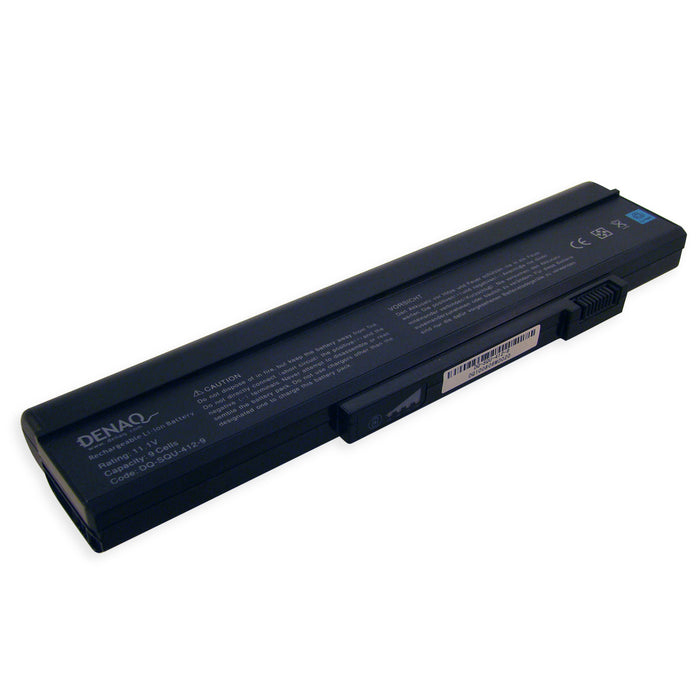 DENAQ 9-Cell 6600mAh Li-Ion Laptop Battery for GATEWAY 6000, 6500, 6834 Series and other