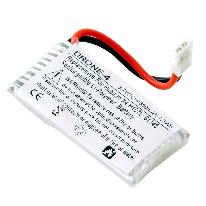 Drone Battery DRONE-4 Replaces Hubsan - 61145