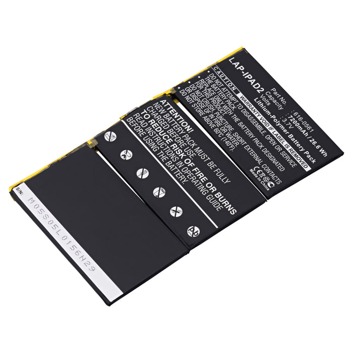 Replacement Battery for Apple iPad2 (iPad 2)